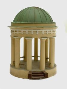 Engelin suunnittelema Diana-temppeli 1830-luvulta