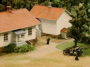 Palvelusväen asuinrakennuksia